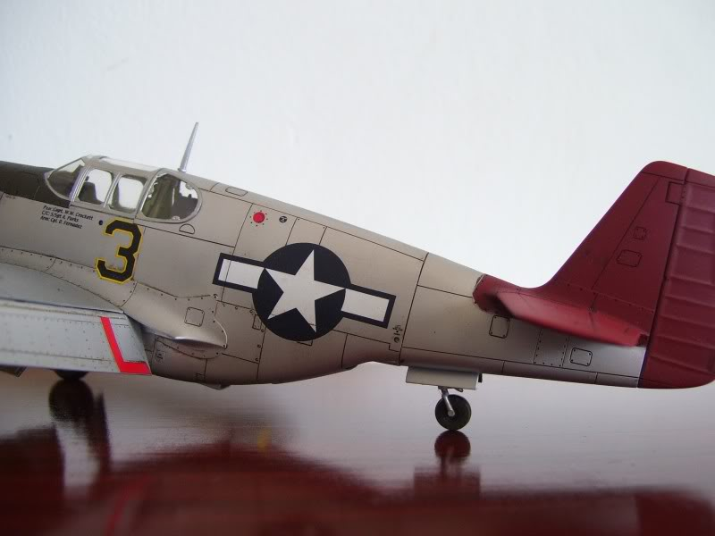 North American P-51 B 332 Tuskeege Tamiya 1/48 Mustang7