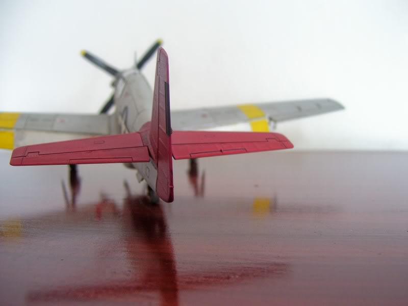 North American P-51 B 332 Tuskeege Tamiya 1/48 Mustang8