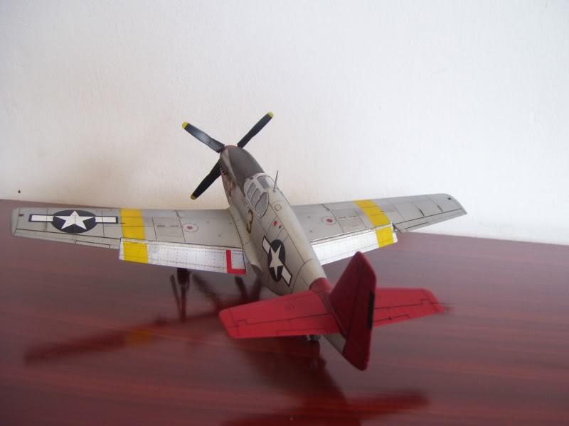 North American P-51 B 332 Tuskeege Tamiya 1/48 Mustang9