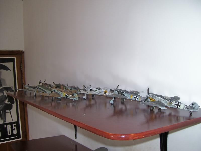 Focke Wulf 190 A-6 Hasegawa 1/48 Georg Schott JG-1 Repisa2