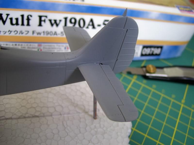Focke Wulf 190 A-5 Walter N. Hasegawa 1/48 (Terminado) Ultimosavancess10