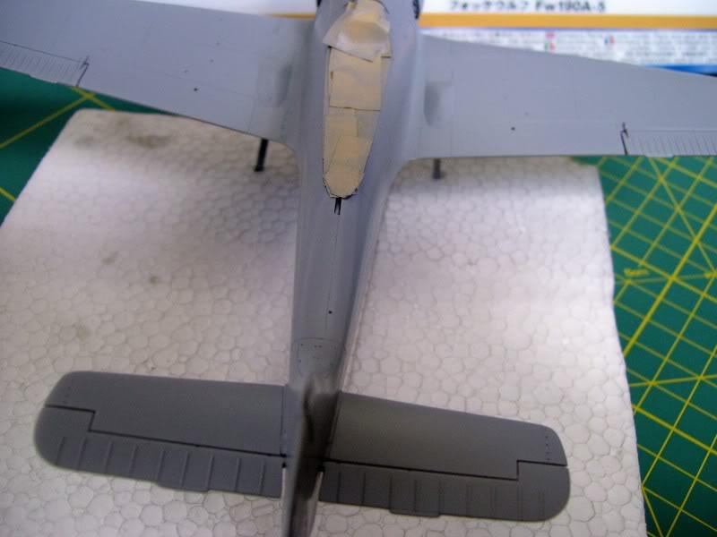 Focke Wulf 190 A-5 Walter N. Hasegawa 1/48 (Terminado) Ultimosavancess13