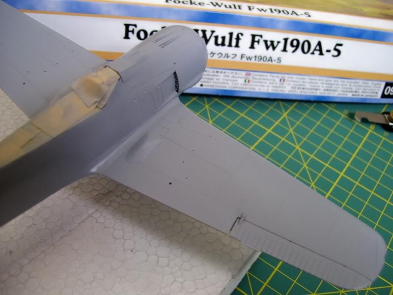 Focke Wulf 190 A-5 Walter N. Hasegawa 1/48 (Terminado) Ultimosavancess14