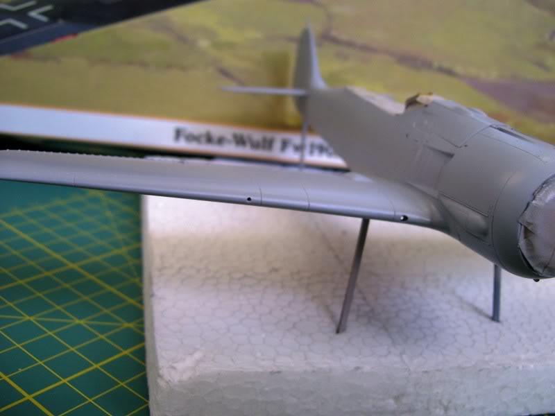 Focke Wulf 190 A-5 Walter N. Hasegawa 1/48 (Terminado) Ultimosavancess16