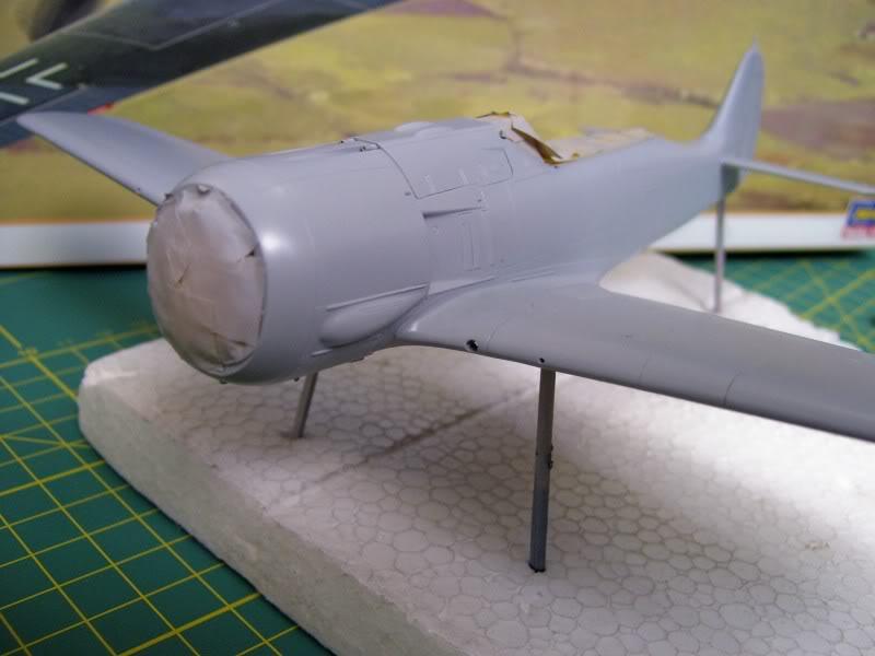 Focke Wulf 190 A-5 Walter N. Hasegawa 1/48 (Terminado) Ultimosavancess18