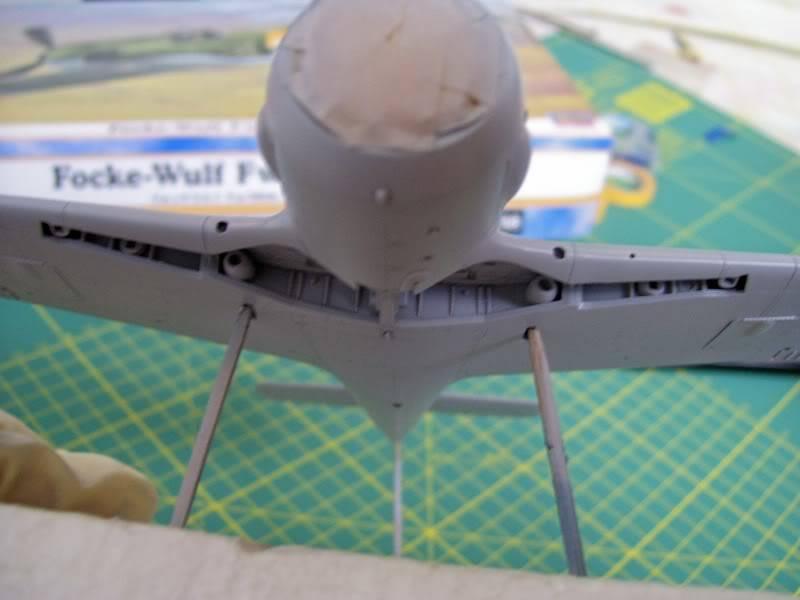 Focke Wulf 190 A-5 Walter N. Hasegawa 1/48 (Terminado) Ultimosavancess27