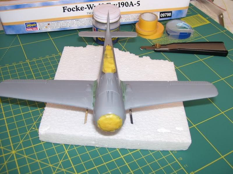 Focke Wulf 190 A-5 Walter N. Hasegawa 1/48 (Terminado) Ultimosavancess4