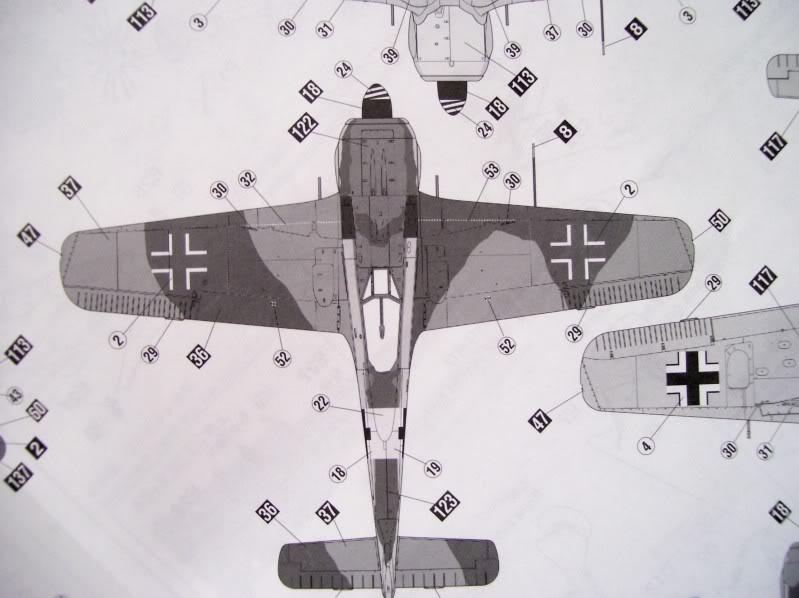 Focke Wulf 190 A-5 Walter N. Hasegawa 1/48 (Terminado) FockeA510