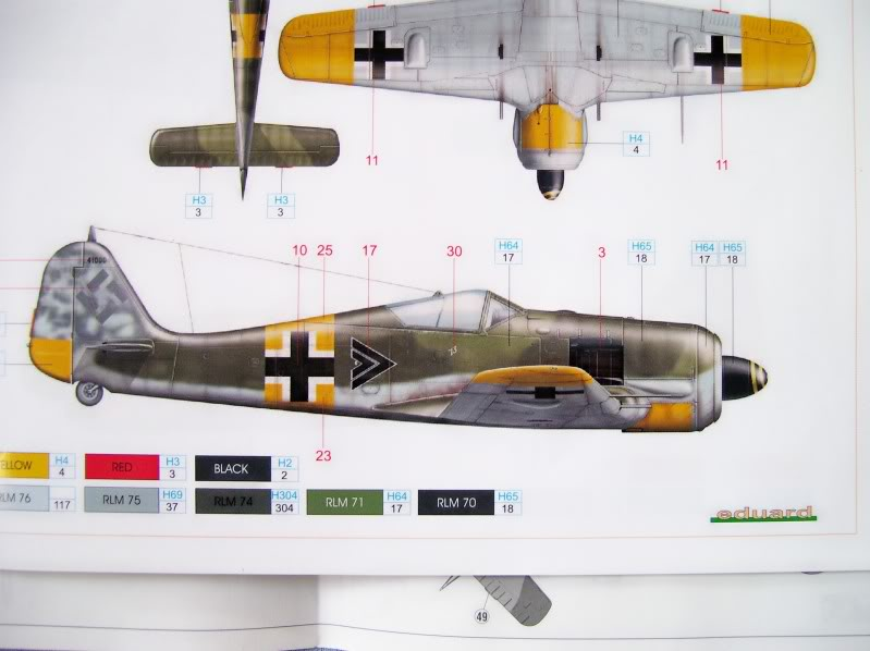 Focke Wulf 190 A-5 Walter N. Hasegawa 1/48 (Terminado) FockeA57-1