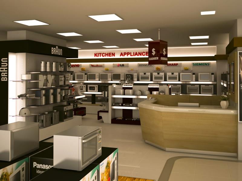 Kitchen appliances section