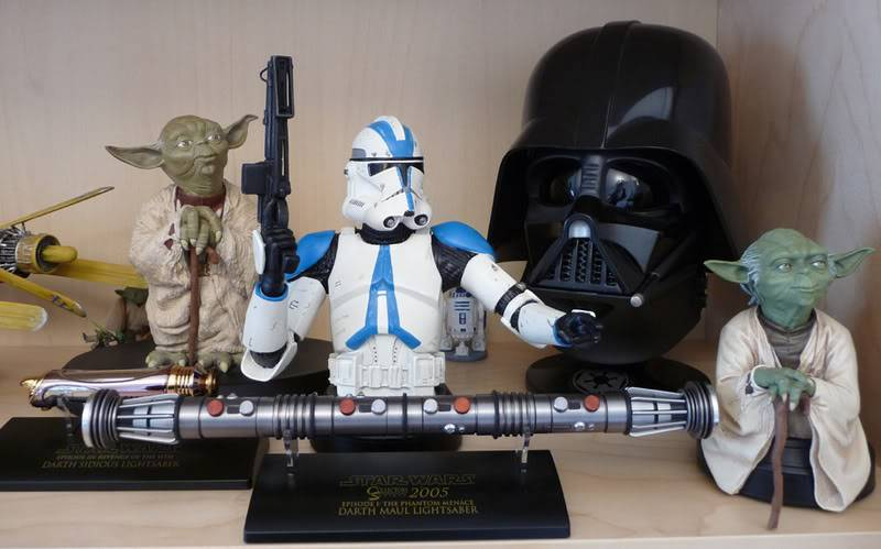 Collection n°59: La collection Star Wars de Masterfouf P1000510