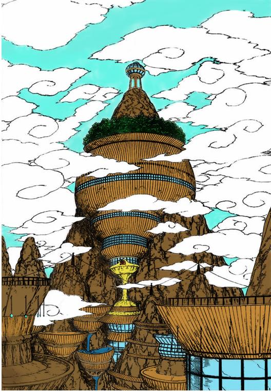 Kancelária Raikageho Kumogakure_Color_by_PredatorKakuzu