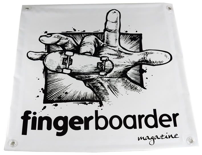"""1# Issue of """"Fingerboarder Magazine"""" Now Available on Blackriver-Ramps! FBmagazineBanner"""