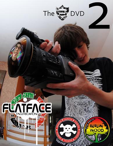 Flatface Fingerboards - New News! FlatFaceDVD2Poster
