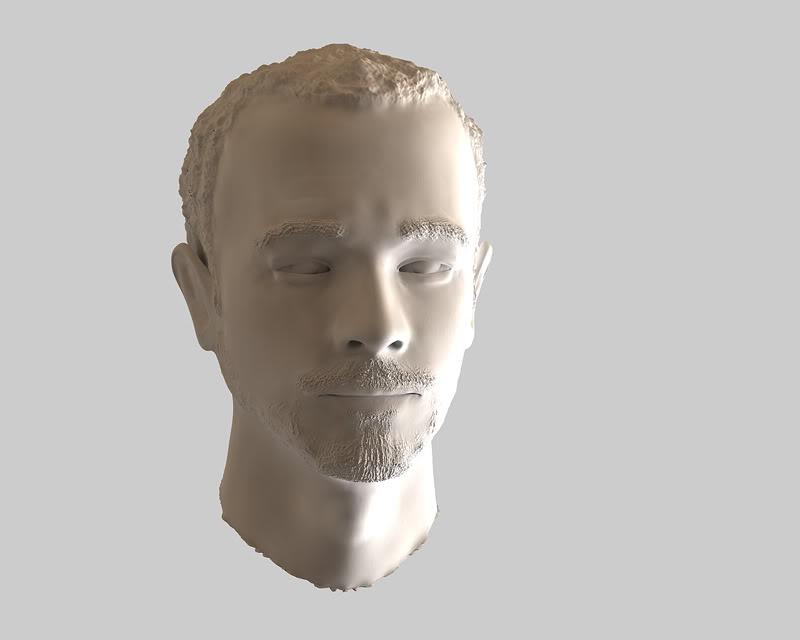 Buste 3D de Calogero Calo-1