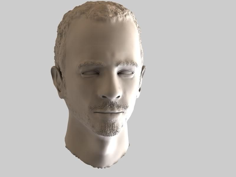 Buste 3D de Calogero Calo-2
