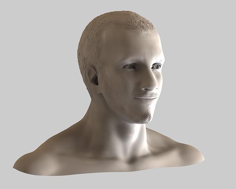 Buste 3D de Calogero Calo