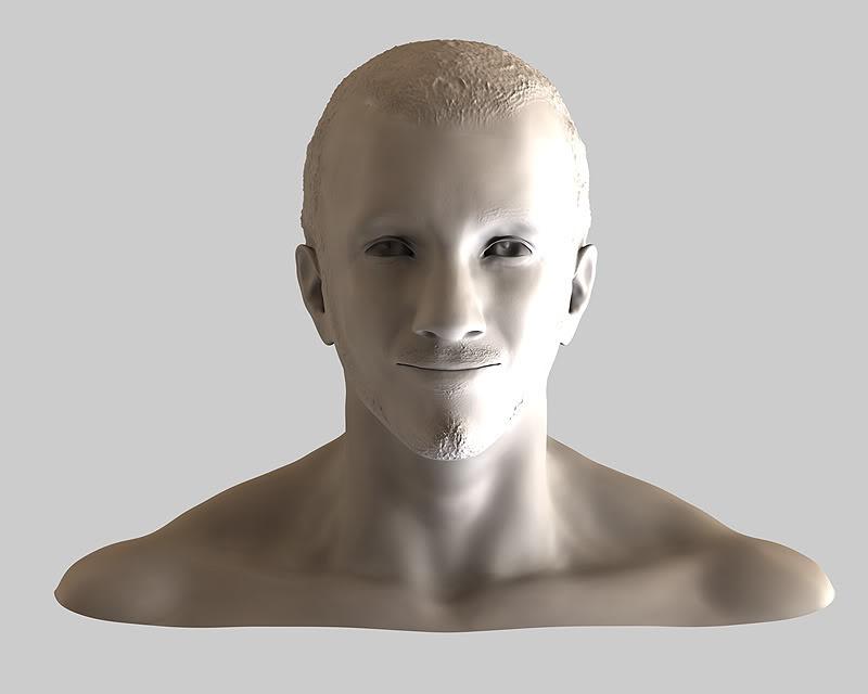 Buste 3D de Calogero Calo2