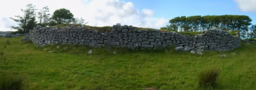 Medieval Fort Clare-pan-burrenfort