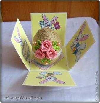 Пасхальные яйца из ткани, лент, джута.... F35f4dce18fd0befcc9a87dae5ffd3bc