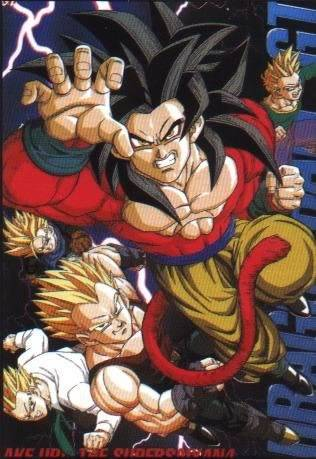 Trama:Dragon Ball DragonBallGT