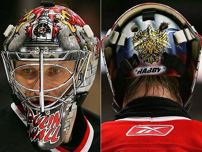 NHL PLAYOFFS NikolaiKhabibulinChicagoBlackhawks