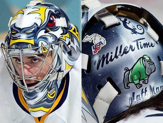 GM Hockey open forum - What is your favourite goalie mask design, past or present? RyanMillerBuffaloSabres