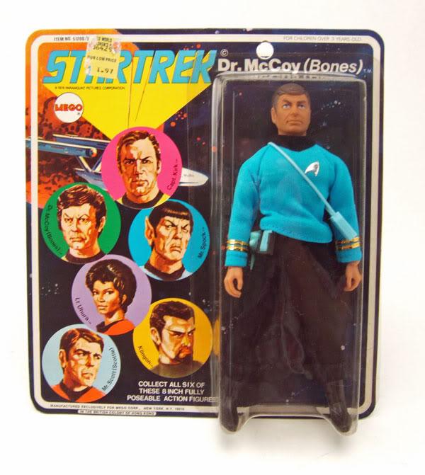 STAR TREK : les figurines MEGO Bones