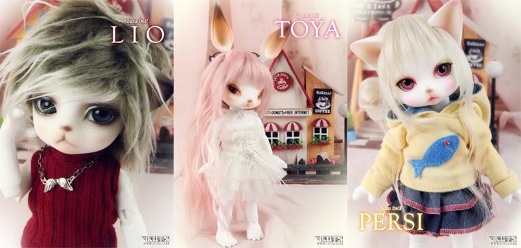 LUTS: Zuzu Delf Lio, Toya and Persi 46e61482