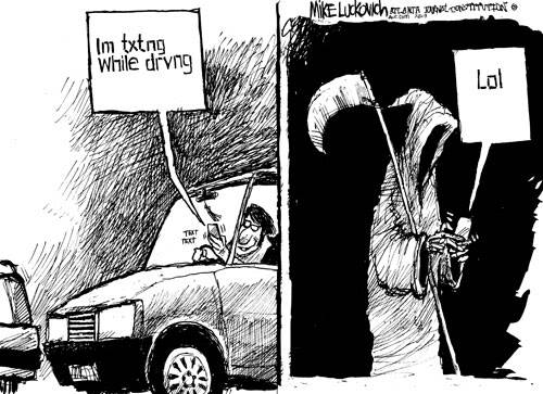 Eleven Teens Die Every Day From Texting While Driving Texting-while-driving