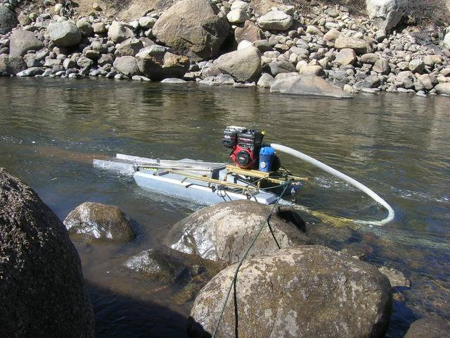 Colorado -- Dredging the Arkansas River with John -- 5 & 6 Apr 2015 DSCN5214_zpsr0s7ndd0