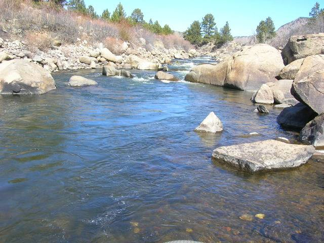 Colorado -- Dredging the Arkansas River with John -- 5 & 6 Apr 2015 DSCN5217_zpss7moirx6
