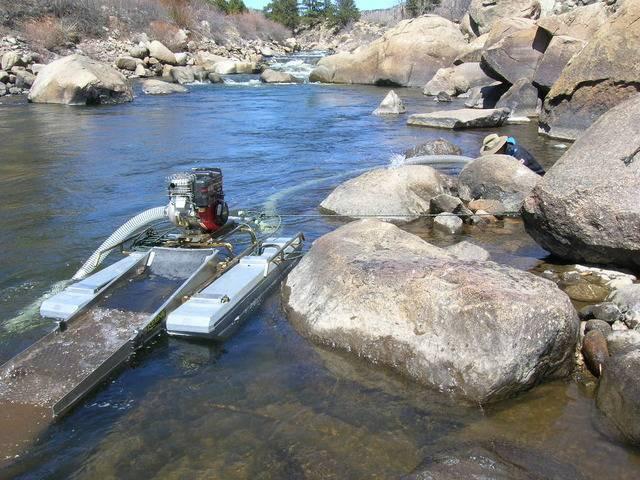 Colorado -- Dredging the Arkansas River with John -- 5 & 6 Apr 2015 DSCN5224_zps5mszbu1w