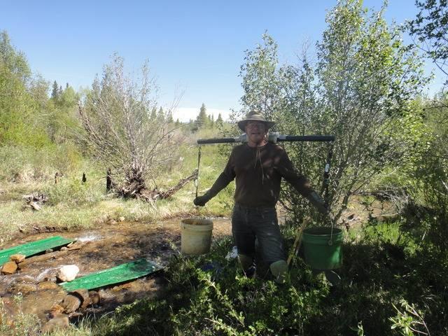 Colorado -- Sluicing Cache Creek with Matt -- 16 June 2017 DSC09728_zps2vvs4omg