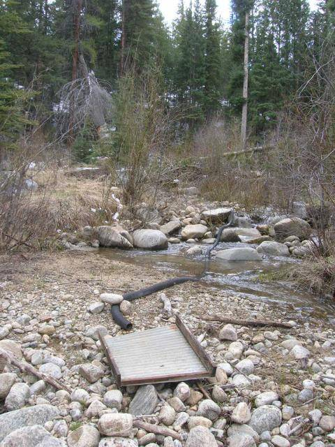 Colorado -- Prospecting a Remote High Mountian Creek 0112_zps63aa1b44