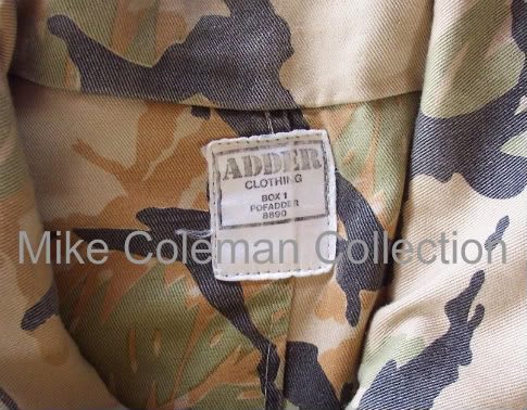 South West African Special Forces Camouflage SWAReccebushjacketf