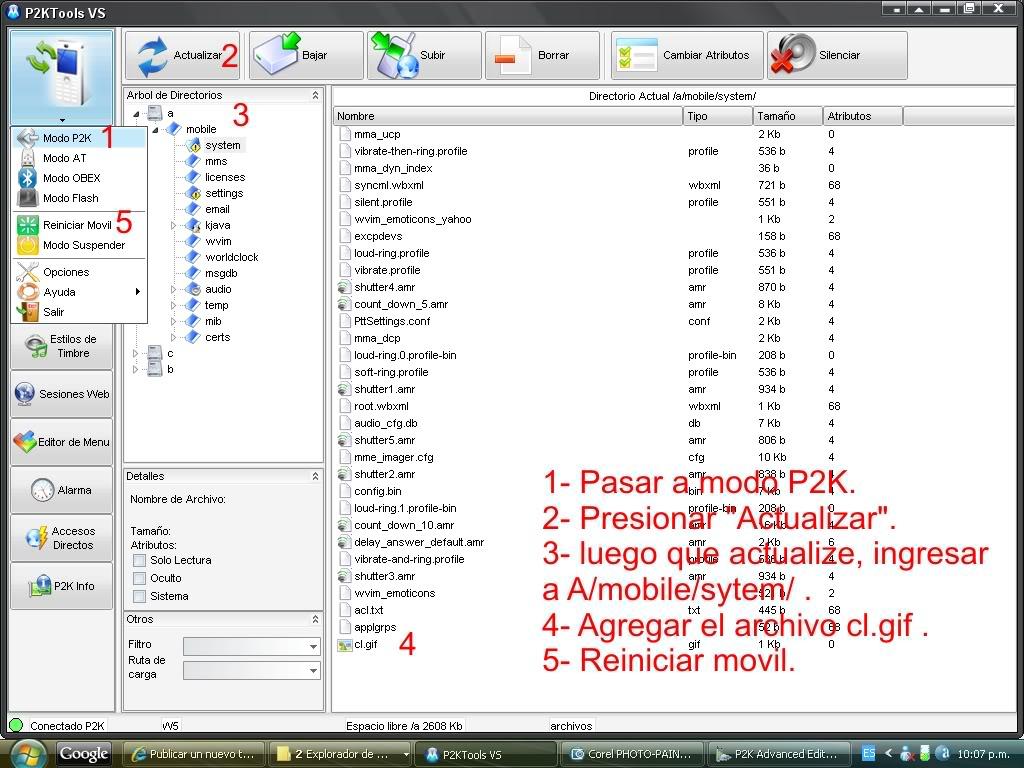 p2k advanced editor