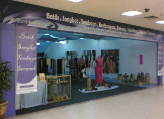 Sarimah Batik : Batik-Songket-Tembaga-Kraftangan ShopF23A