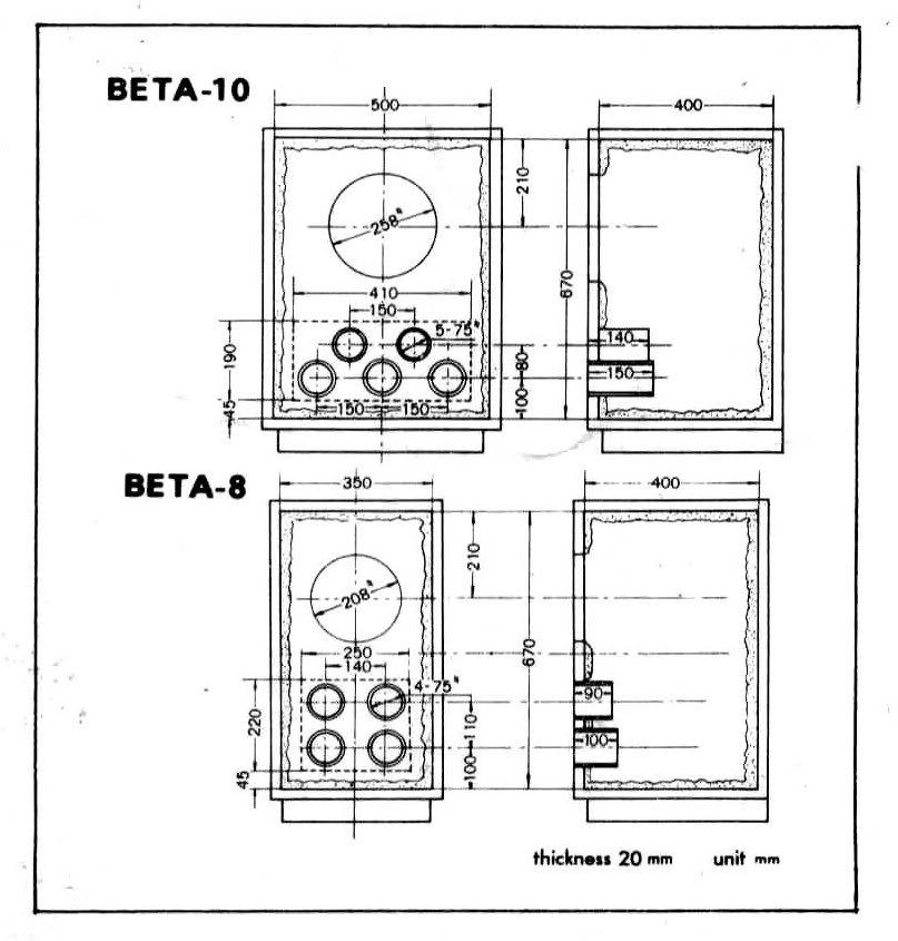 As minhas 1ªs colunas CoralBeta810Boxinstruction