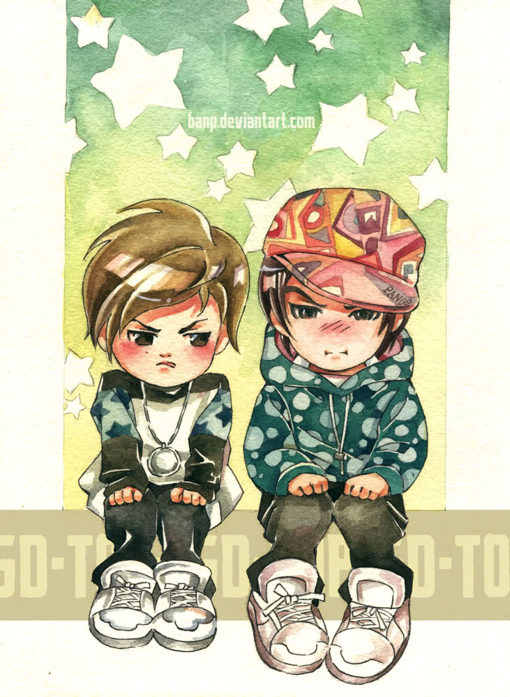Hình manga của các nhóm nhạc Hàn 60c2d7451586c47d06459c6c9f94ad31