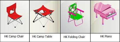 New Hello Kitty Furniture in Bearville Outfitters HKfurnituren