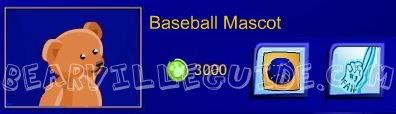 New PSI from Baseball Mascots!! Basbeballteddy