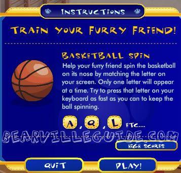 Basketball Spin Basketballinstructions