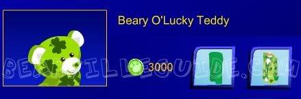 Beary O'Lucky Teddy Bearyoluckyteddy
