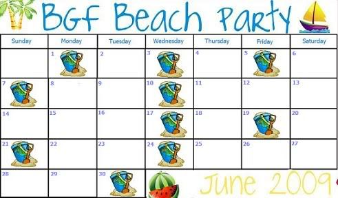BGF Beach Party Month Bettersmallcallie