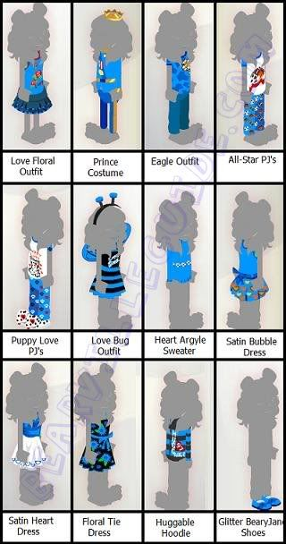 New Clothes in Bearville Outfitters Bvoclothesvalentine