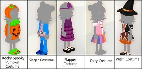 New Costumes in Bearville Outfitters! Bvocostumes