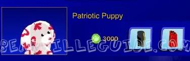 Patriotic Puppies now available! Canadiapup