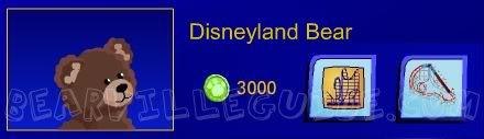 Downtown Disneyland Bear Disneylandbear