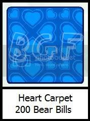 New Heart Room Heartcarpet